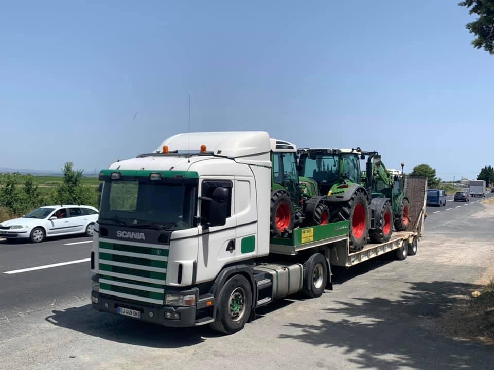 Transport de matériels